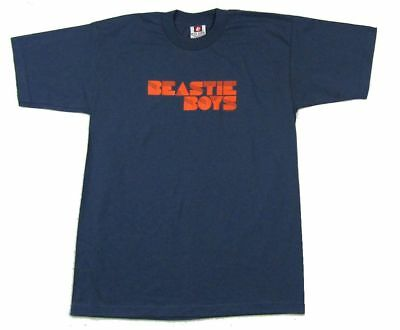 Beastie Boys Orange Logo Navy Blue T Shirt New Official Big Tall Sizing!!