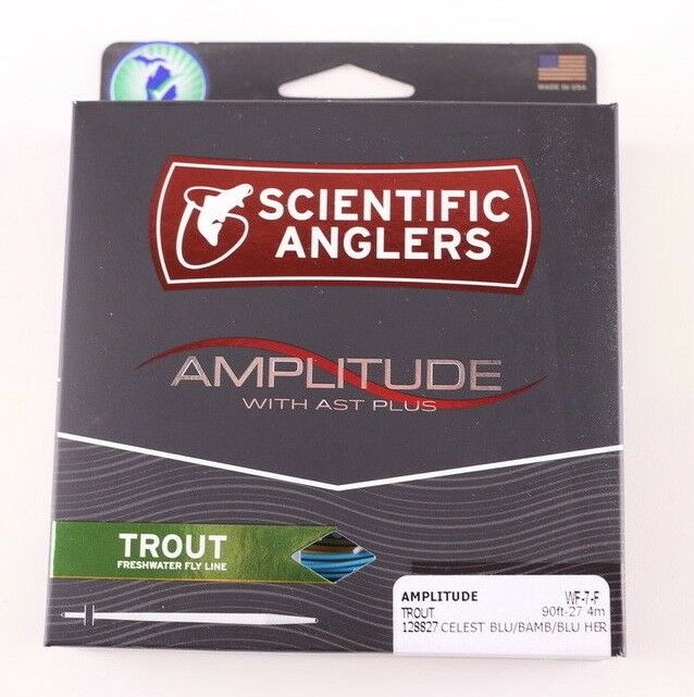 Scientific Anglers Amplitude Trout WF7F Fly Line Free Fast Shipping 128827