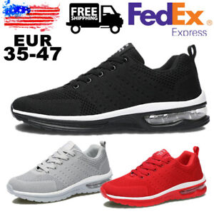 Men's Mesh Shoes Breathable Lightweight  Slip on Tennis Sports Running Sneakers