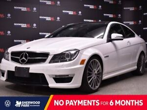 2013 Mercedes-Benz C-Class C63 AMG   * LEATHER * 6.2L 510 HP * NAV * BACK UP CAM * HEATED SEATS