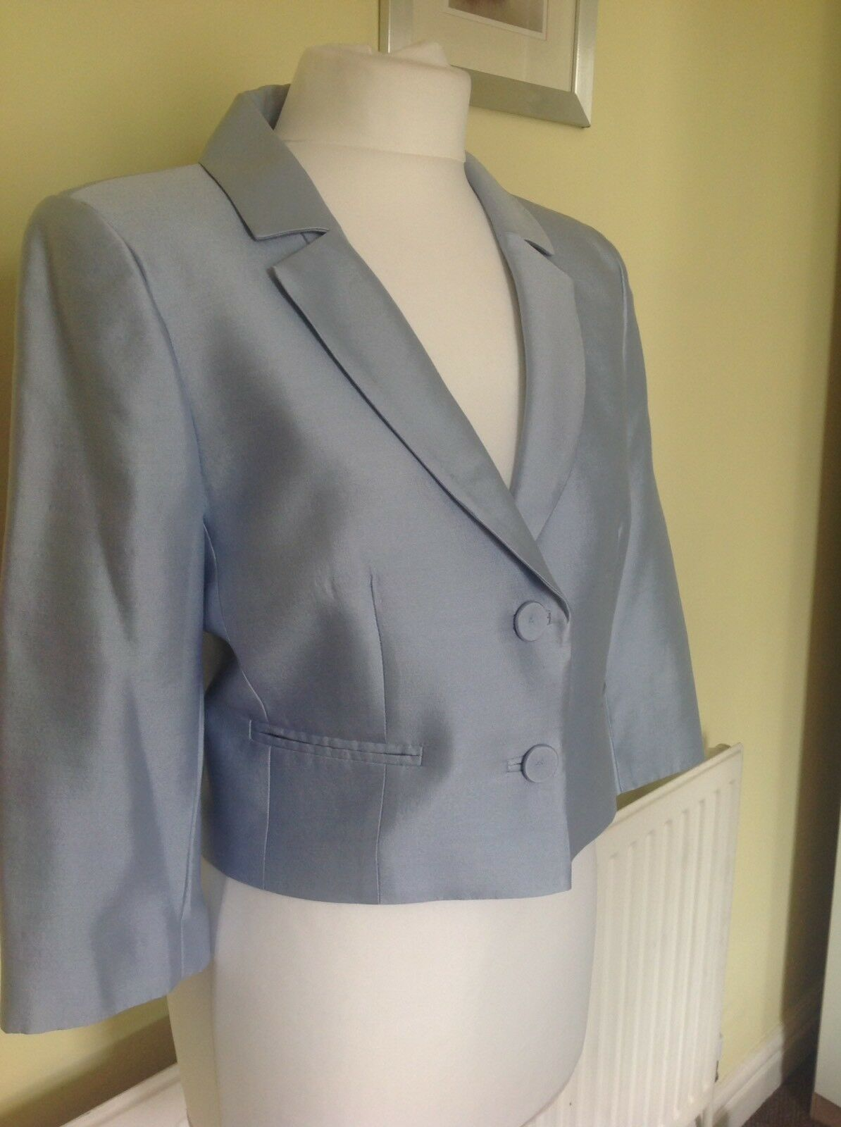 Hobbs 'CRYSTAL blu blu blu  SETA Lana Giacca 48e667