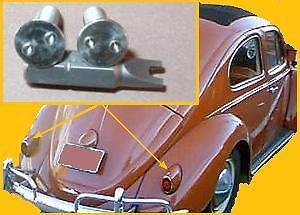 VW Early Beetle Split Oval Snowflake Heart Tail-Light Anti-Theft Security Screws