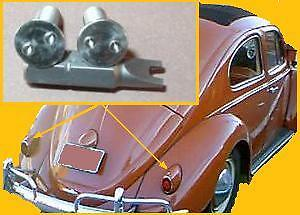 VW Early Beetle Split Oval Snowflake Heart Tail-Light SECURITY Anti-Theft Screws