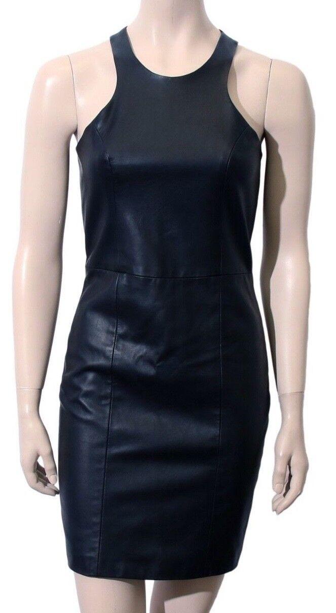 MASON Leather-Front Dress (Size  4)