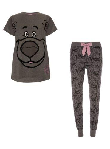 DISNEY LIBRO DELLA GIUNGLA Donna Pantaloncini T-shirt Top Pantaloni Pjs Pigiama Set Primark
