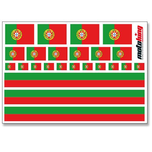 PORTUGAL AUFKLEBER FLAGGEN STICKERHELM FAHRRAD MODELLBAU BOBBYCAR AUTO