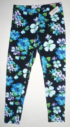 Womens AEROPOSTALE Floral Midnight Capri Leggings Pants Capris NWT #5516
