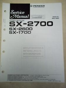 Download the pioneer sx-2600 manuals for free hifi manuals.