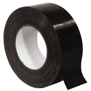 0 10 M Schwarzes Gewebe Klebeband Tape Gewebeband Schwarz Musikato