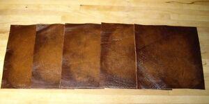 leathercraft-pieces-scrap-offcuts-Antique-Gold-hide-remnants-larp-art-patches
