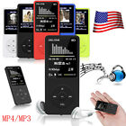 8GB 70Hours Playback MP3/MP4 Lossless Sound Music Player FM Recorder TF Card LOT