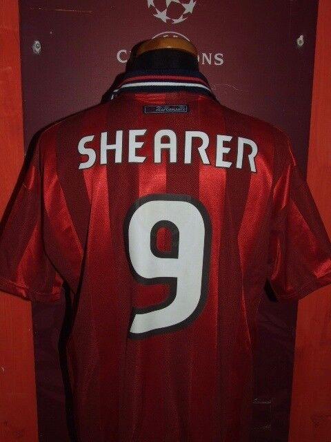 ALAN SHEARER ENGLAND 1998 MAGLIA SHIRT CALCIO FOOTBALL MAILLOT JERSEY CAMISETA