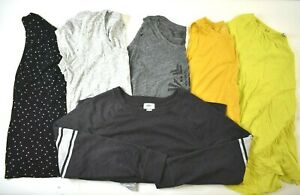 Lot-of-6-Old-Navy-Women-039-s-XL-Spring-Summer-Mixed-Style-Top-Set-Tank-Shirt-Blouse