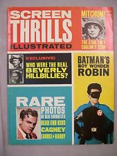 SCREEN THRILLS ILLUSTRATED MAGAZINE JULY 1963 RARE PHOTOS BATMAN ROBIN