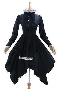 JL-575-black-Goth-Punk-Visuel-Kei-Kera-Lolita-dress-costume-dress-Cosplay