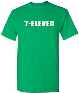 7-ELEVEN-T-shirt-7-11-Funny-POP-PARTY-Vintage-COOL-Tee