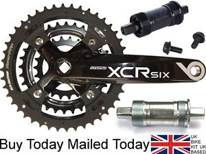 Suntour xcr chainset Alliage 175 mm manivelle vélo 8 9 Vitesse Shimano compatible22 / 32/44  </span>
