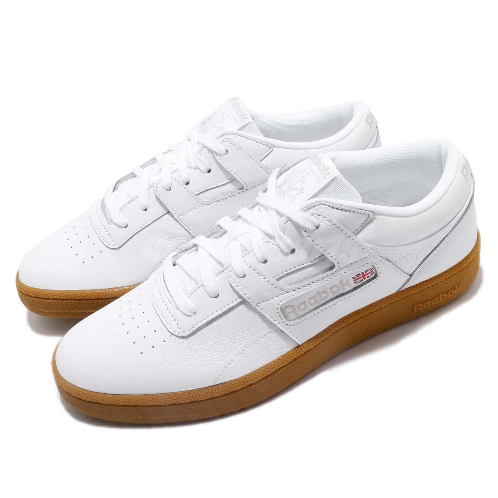 Reebok Club Workout MU blanco Skull gris Gum Men Casual zapatos zapatillas CN5076