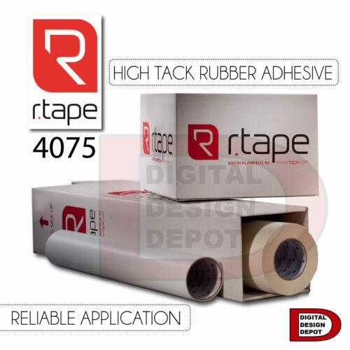 """12/"""" x 300 ft RTape R-Tape 4075 Application Transfer Tape ApliTape Vinyl Cut"""