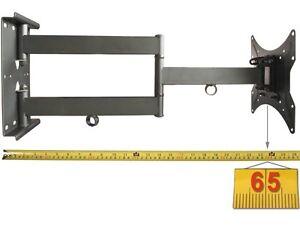 wandhalterung led lcd 16 40 zoll fernseher halter bis 65 cm ausziehbar neigbar ebay. Black Bedroom Furniture Sets. Home Design Ideas