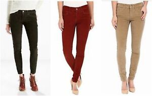 New-Levi-039-s-Womens-710-Mid-Rise-Super-Skinny-Corduroy-Stretch-Jeans-Sizes-24-34