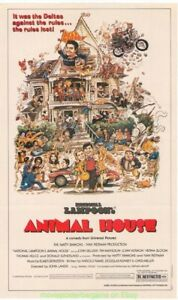 Animal-House-Poster-Film-John-Belushi-Topps-Mini