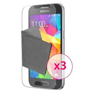 Films De Protection Galaxy Core Prime Clubcase® 3h Ultra Clear Hd Lot De 3