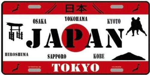 TARGA AMERICANA COLLEZIONE PAESI DEL MONDO GIAPPONE TOKYO
