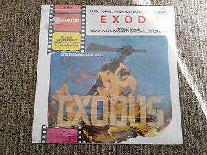 EXODE-EXODUS-BANDE-ORIGINALE-ERNEST-GOLD-LP-12-034-VINYLE-ESPAGNE-ED-1972-NEUF