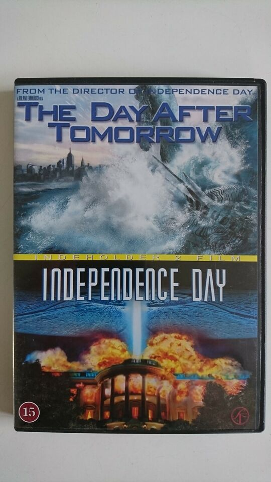 The Day After Tomorrow + Independence Day (2 film),