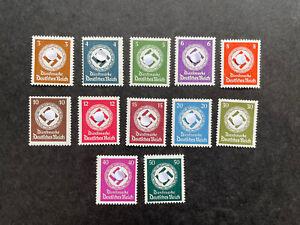 Deutsches Reich Dienstmarken sauber Postfrisch, MiNr 166-177, Satz kompl. Top!!!