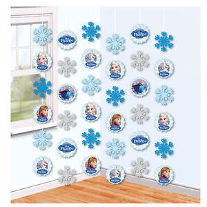 Disney-Frozen-String-Decorations-Enfants-Fete-D-039-Anniversaire-Guirlande-banniere-Bunting