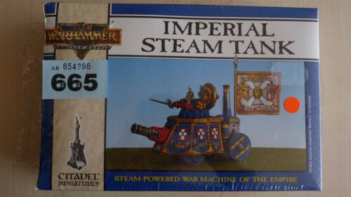 WHFB AOS CLASSIC EMPIRE VINTAGE IMPERIAL SM TANK METAL NISB OOP RARE #665