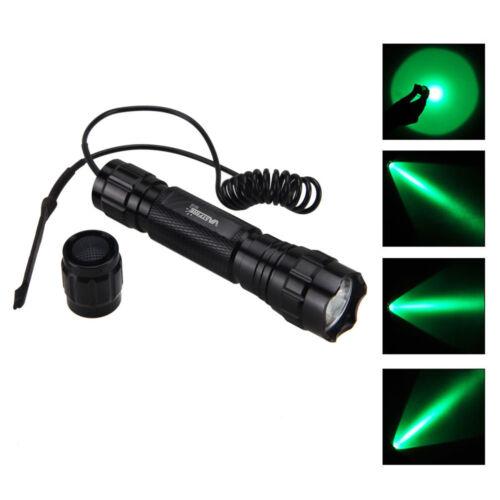 Red Dot Laser Sight+501B Tactical 5000Lm Green Light LED Flashlight Torch Light