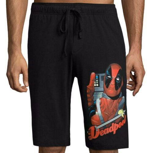 Marvel Comics Deadpool Knit Pajama Shorts