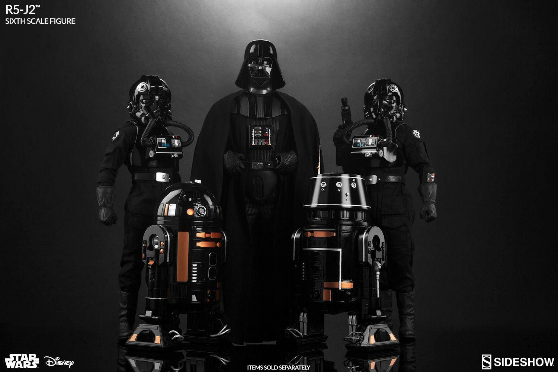 Estrella Wars -- Estrella Wars-Astromech Imperial R2-J2 escala 1 6 figura