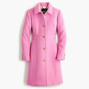 J Crew Double Cloth Lady Day Coat With Thinsulate 0 10 2p 4p 4
