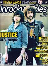 LES INROCKUPTIBLES 681./...JUSTICE EN AMERIQUE....CALIFORNIA DREAMIN../.12 -2008