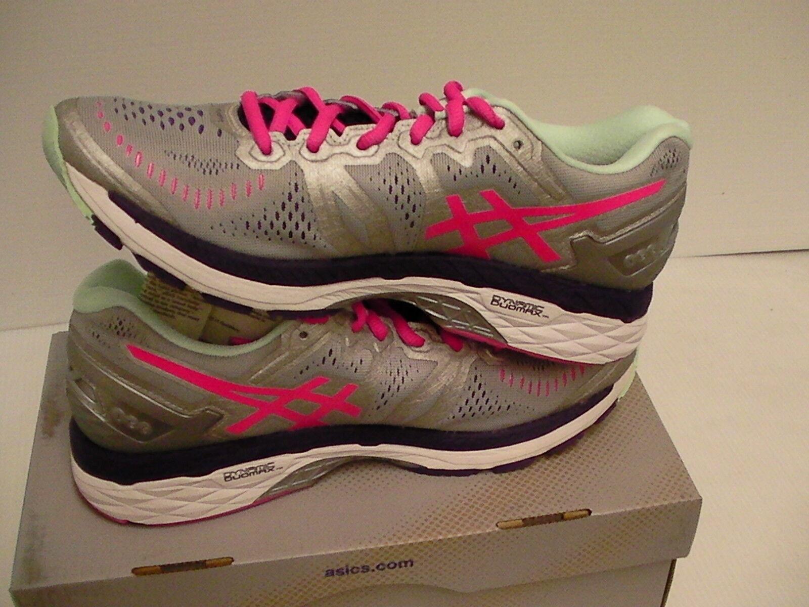 Asics Damens's gel kayano 23 running schuhe 7 silver pink glow Größe 7 schuhe us 662c82
