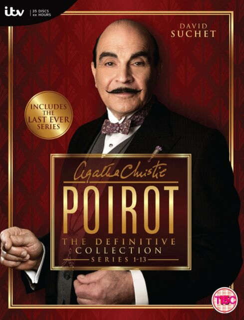 Agatha Christie's Poirot The Definitive Collection Series 1-13 DVD Box Set SALE