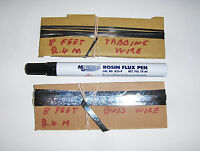 Tabbing Wire Kits For Sunpower 5x5 Mono Flexible Solar Cells 1, 2 Or 3 Panels
