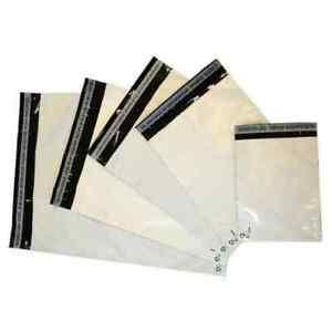 100 Enveloppes Plastique Opaque 350x450mm Postal Pochettes Sac-envoi-emballage- AgréAble Au Palais