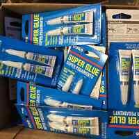 40 Tubes Super Glue Liquid 2-gram ( 20 Packs Of 2 Tubes Each) By Duro