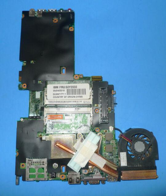 Genuine IBM Lenovo Thinkpad X60 T7200 Intel System Motherboard 60Y3930
