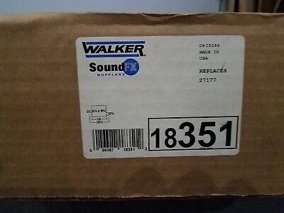 Exhaust Muffler-SoundFX Direct Fit Muffler Walker 18351 fits 87-90 Jeep Wrangler