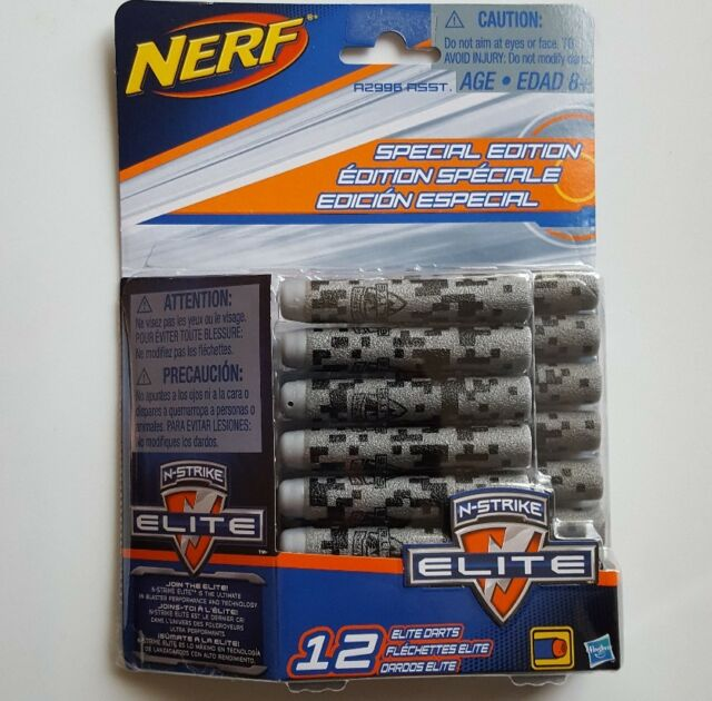 0091e71c82 NERF N-strike Elite Special Edition 12 Dart Refill by Hasbro A2997 ...