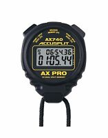 Accusplit Ax740 Pro Memory (50) Dual Line Stopwatch Free Shipping
