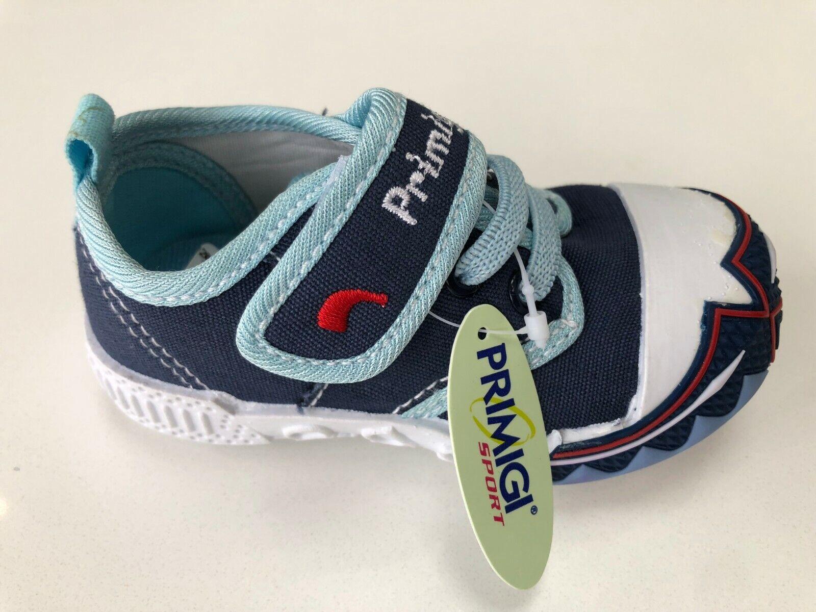 Primigi 23660 Blue Canvas Shoe Size UK