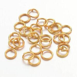 400 Pcs 4mm Silver Plated Open Jump ring Craft  Findings Beads Jewellery i148
