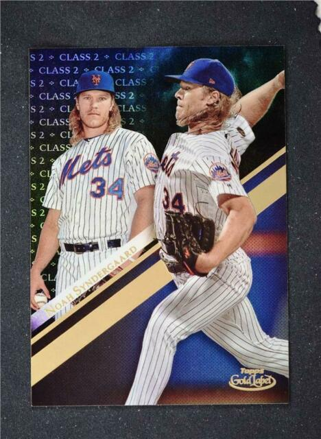2019 Topps Gold Label Class 2 Black #38 Noah Syndergaard - New York Mets